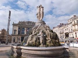 モンペリエ・三美神の噴水