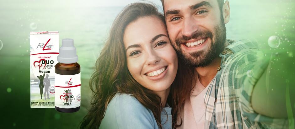 FitLine microSolve® HeartDuo Vegan – din daglige dose Omega 3 og Q10