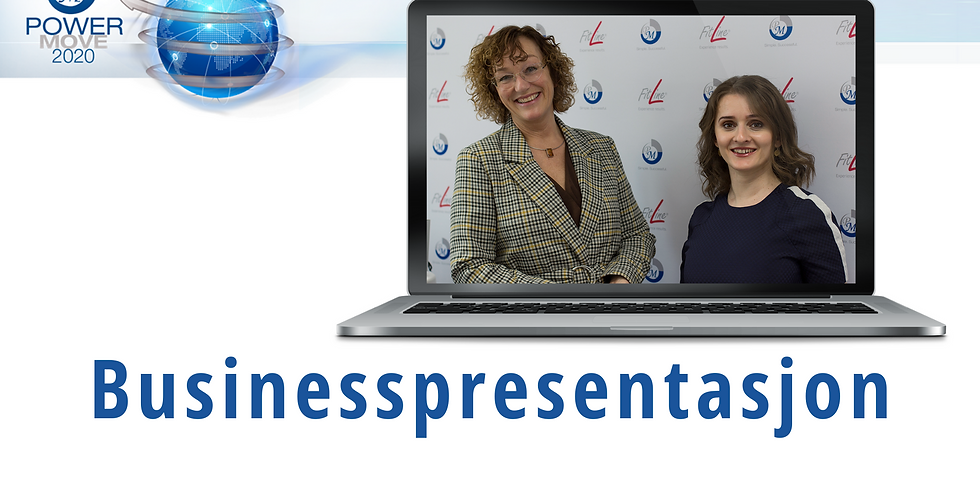 Business Presentasjon  som webinar