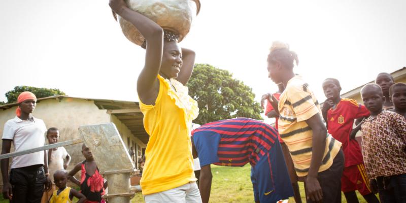 Vann er liv: PM støtter WASH-programmet i Ghana