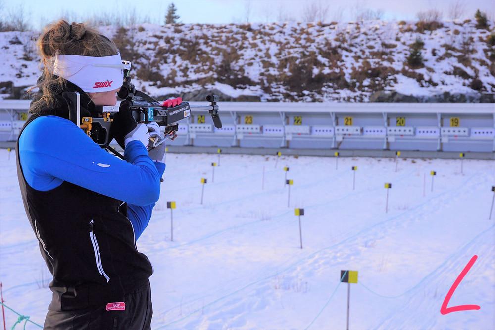 Ida og Guro Herfoss skiskyting