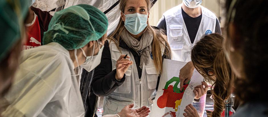 PM hjelper: 200 550 EUR og forsyninger for å støtte helsearbeidere, hjelpere og familier i Spania