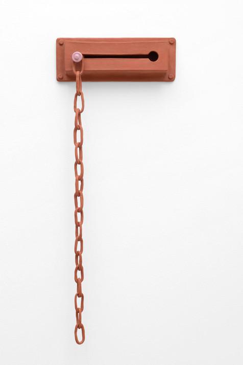 Loose Lock, 2019, Terracotta