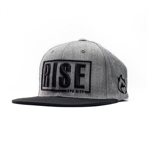 Rise Snapback Black/Grey