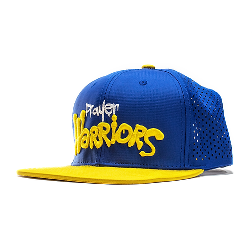 Prayer Warriors Snapback Blue/Yellow