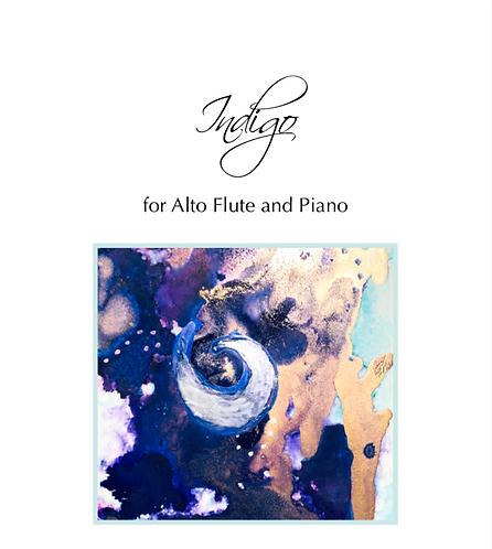 Indigo for Alto Flute and Piano