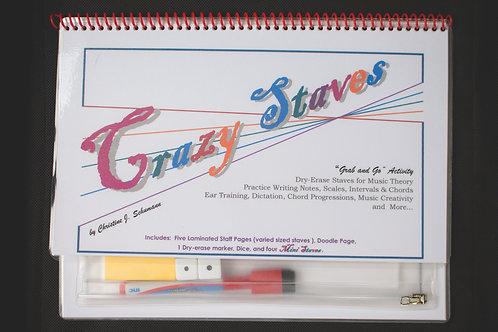 Crazy Staves Dry-Erase Staves Activity Set