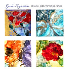"""Garden Impressions"" Coaster Set"