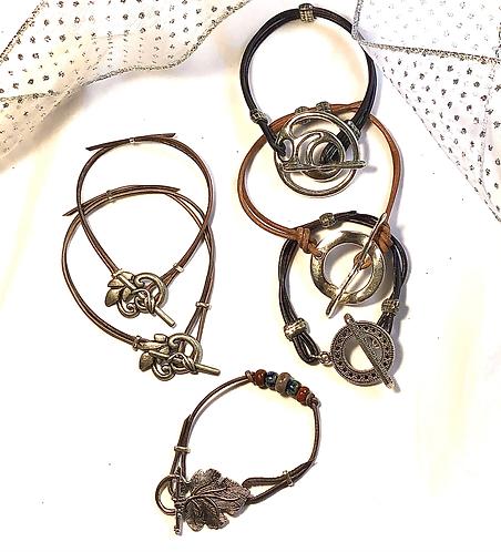 Fancy Toggle Bracelets