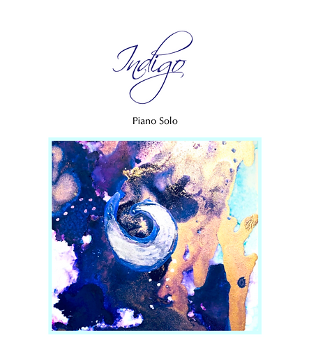 Indigo Piano Solo (Digital Download)
