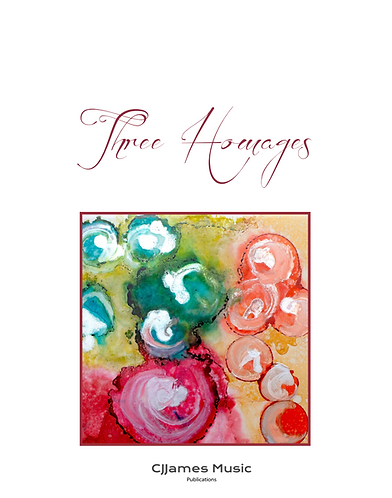 Three Homages - Piano Solo (Sheet Music)