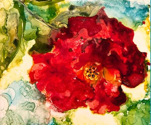 Mixi's Rose Print
