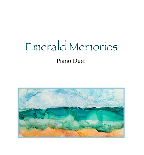 Emerald Memories Piano Duet (Digital Download)