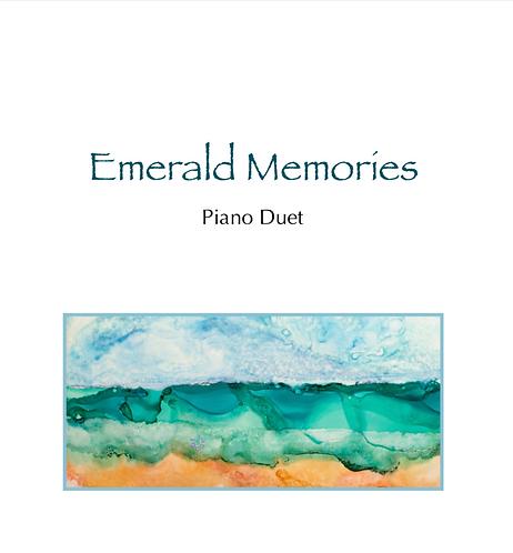 Emerald Memories - Piano Duet (Sheet Music)