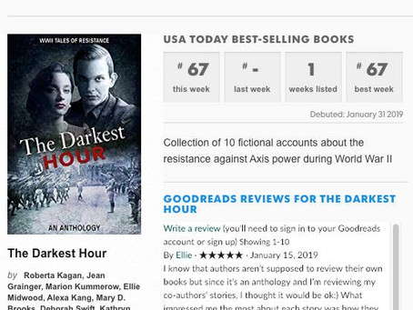 Congratulations to our founder! Ryan Armstrong is now a USA Today Bestselling author!