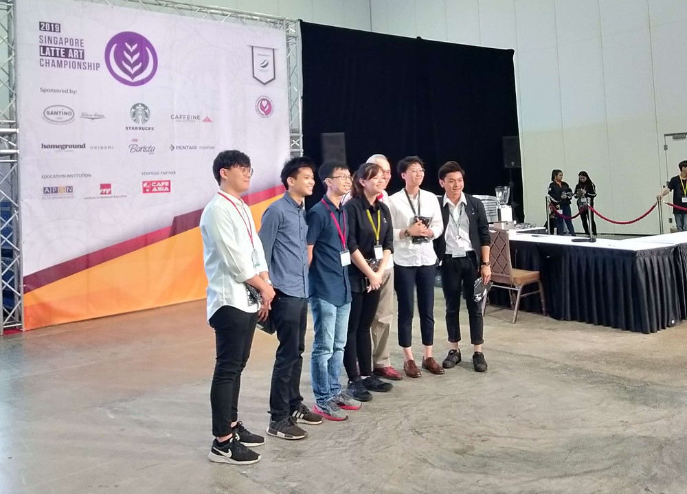Singapore Latte Art Championships Finals