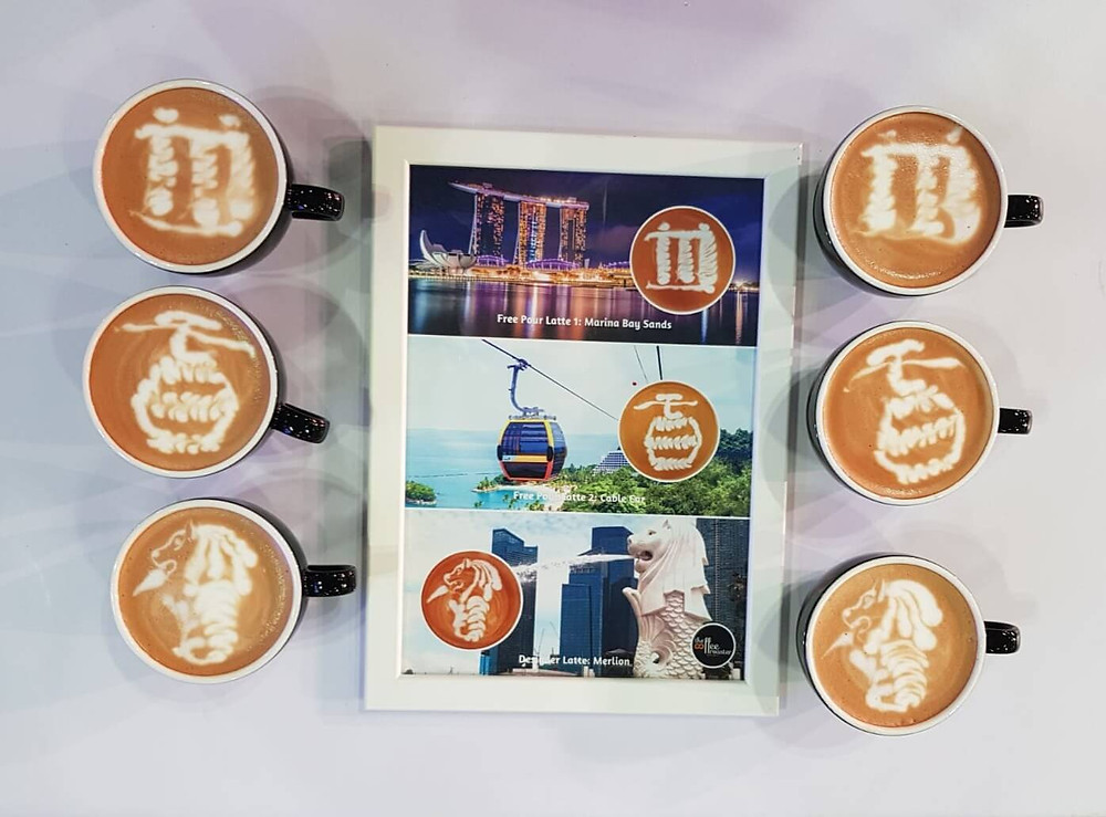 Singapore Latte Art Championships Finals Actual