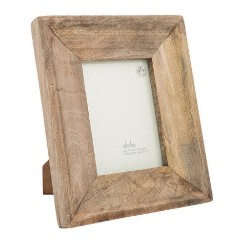 """Nkuku -Habibi Mango Wood Photo Frame - 5x7"""""""