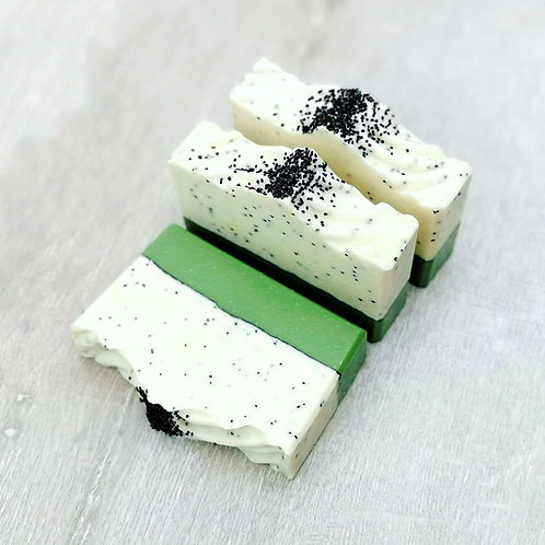 Lemongrass & Poppy Seed Artisan Soap