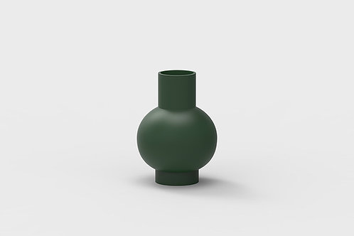 Lundstrom vase, Green by Nicholai Wiig Hansen for Raawai