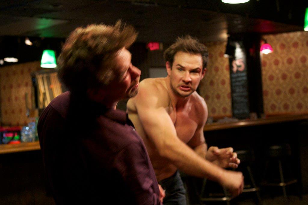 Fight Scene Ravanello and Merriman