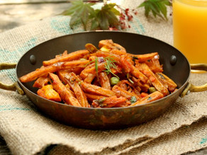 Masala fries (Patatine fritte con masala)
