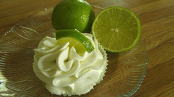 Keylime cupcake with Keylime Buttercream