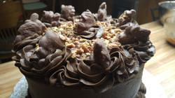 CHOCOLATE FUDGE TURTLE CAKE-1