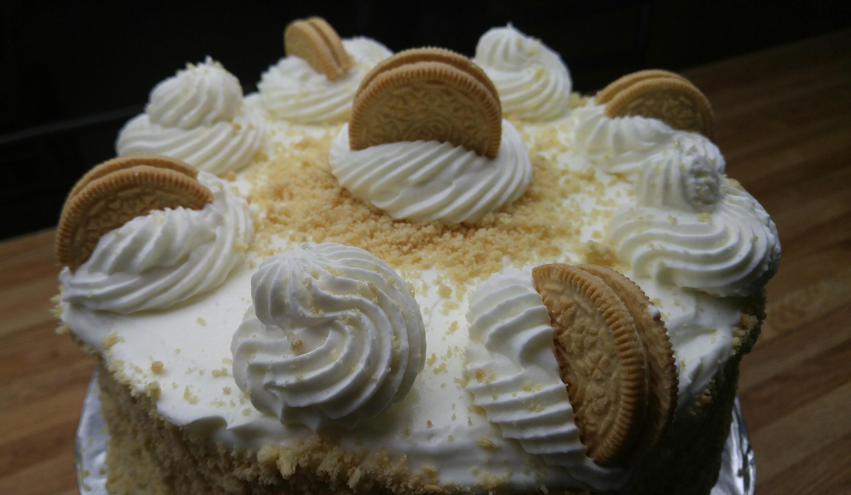 Golden Oreo Cake
