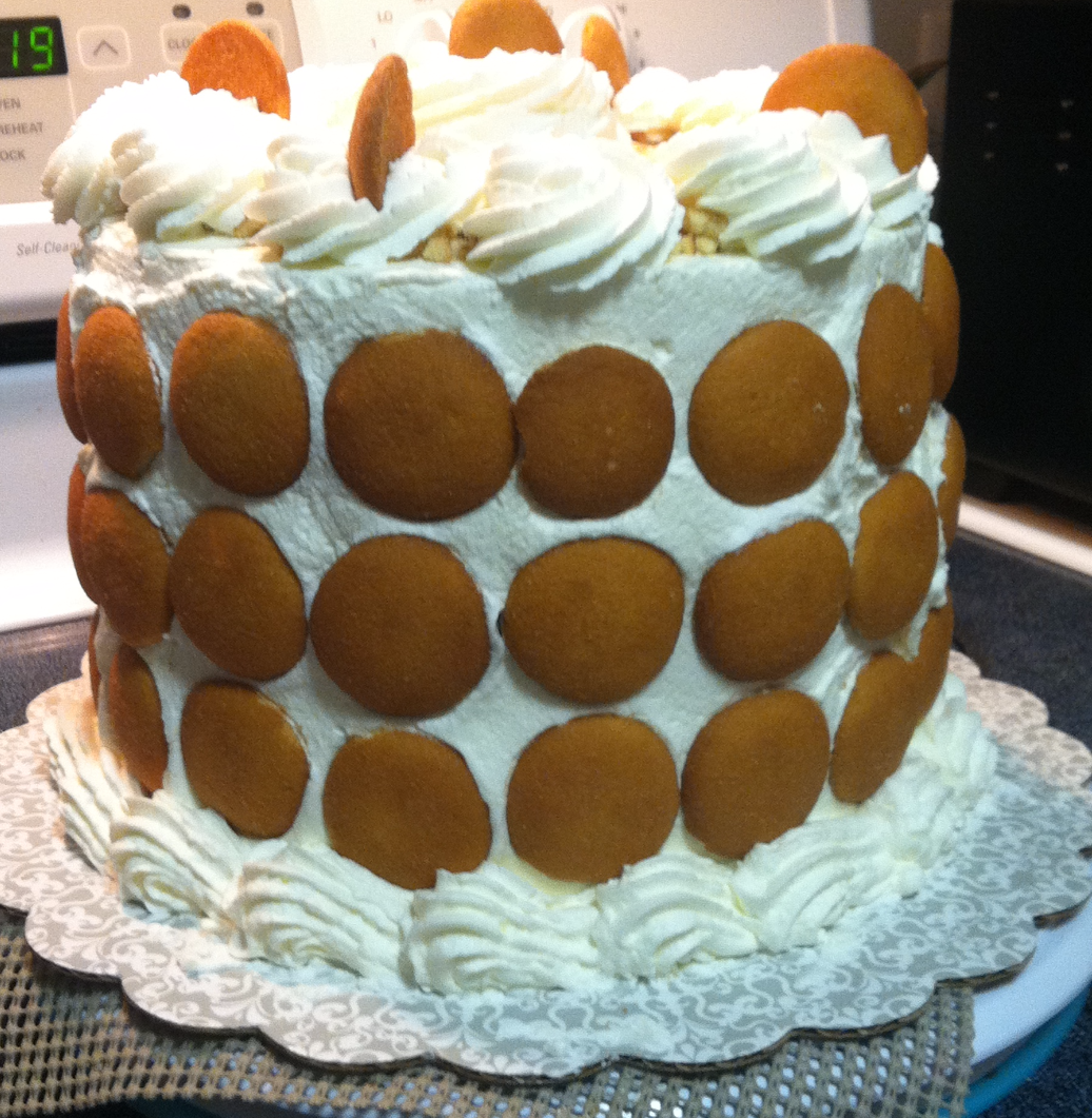 Banana Pudding Cheesecake Cake