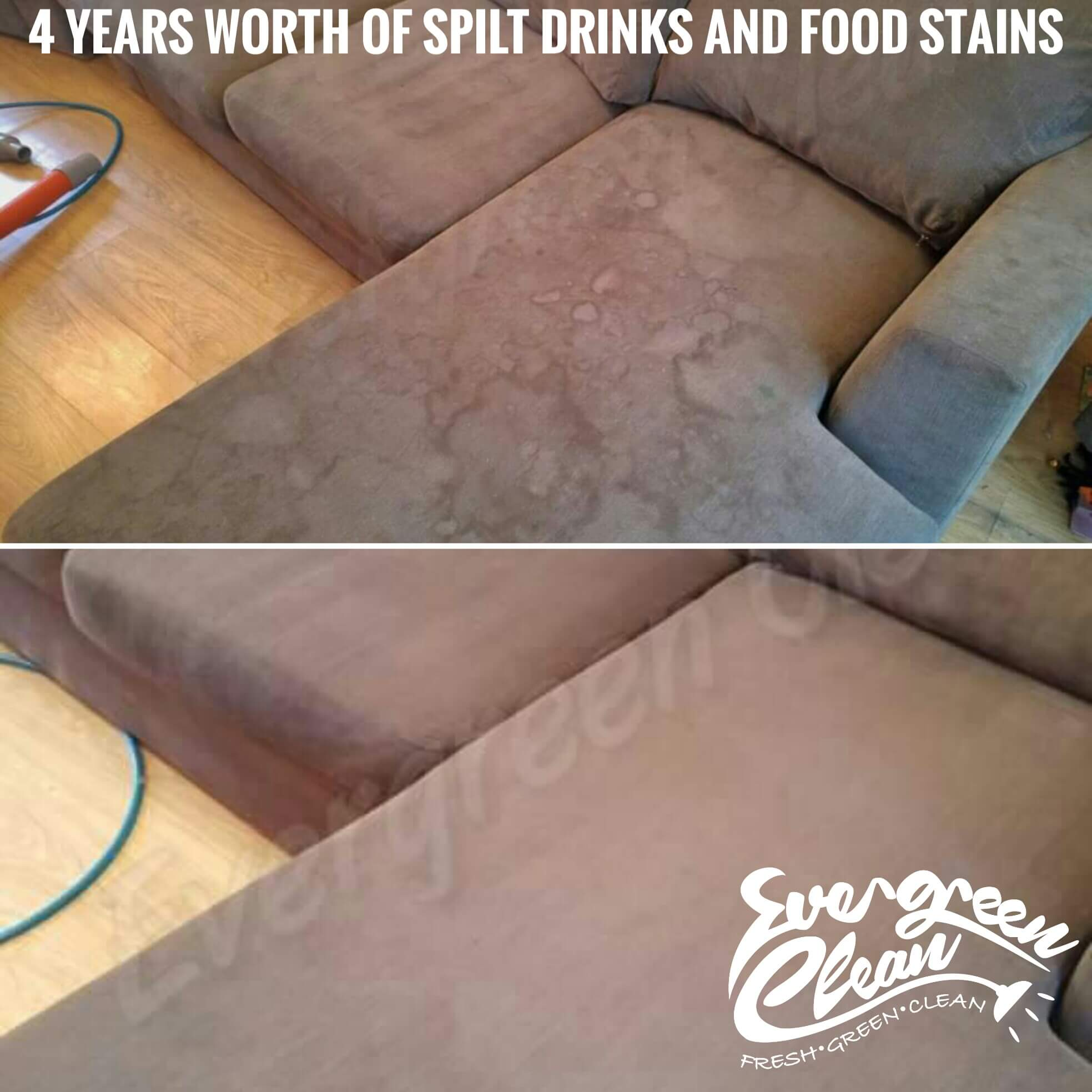 water marks on sofa cleaning