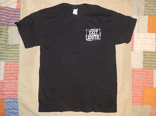 Exit South T-Shirt-Black