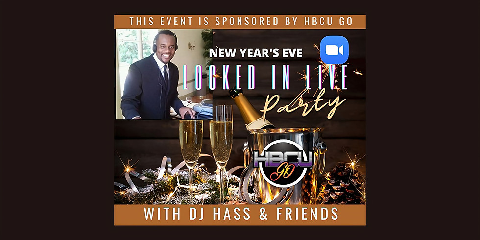 New Year's Eve: Locked In LIVE with DJ Hass & Friends