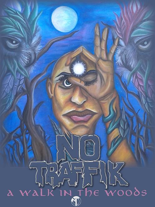 No Traffik 'A WALK IN THE WOODS' Album Poster