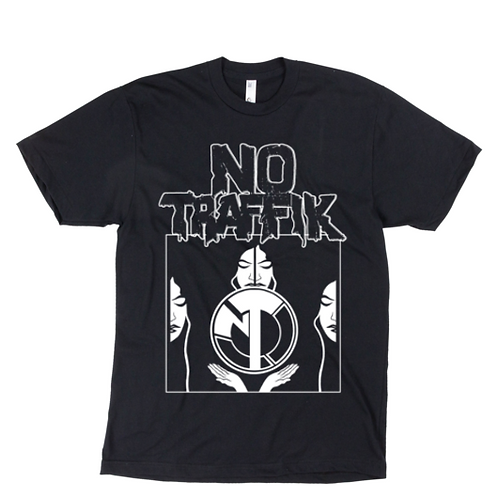 "No Traffik ""RING OF HONOR"" Black T-Shirt"