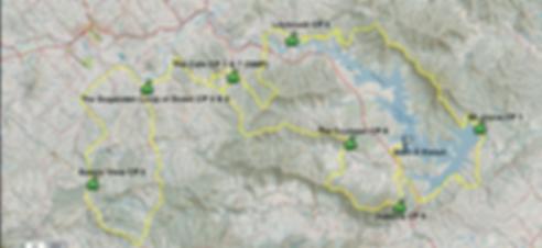 scenic rim ultra course map