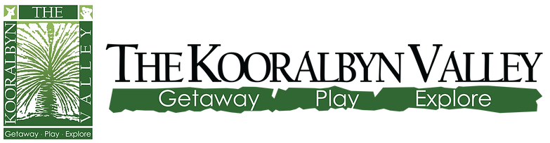 The Kooralbyn Valley logo complete white logo.png