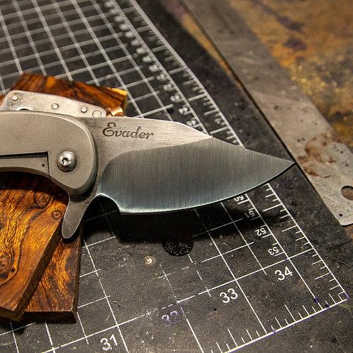 1095 Framelock & 2 toned blade
