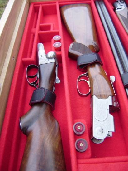 Fully lined gun drawer