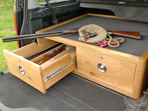 Two drawer shooter box