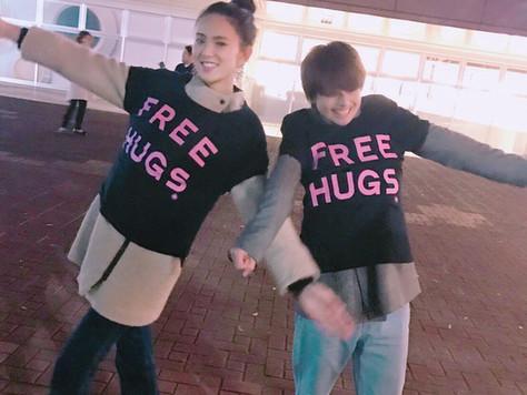 Free hugs に参加