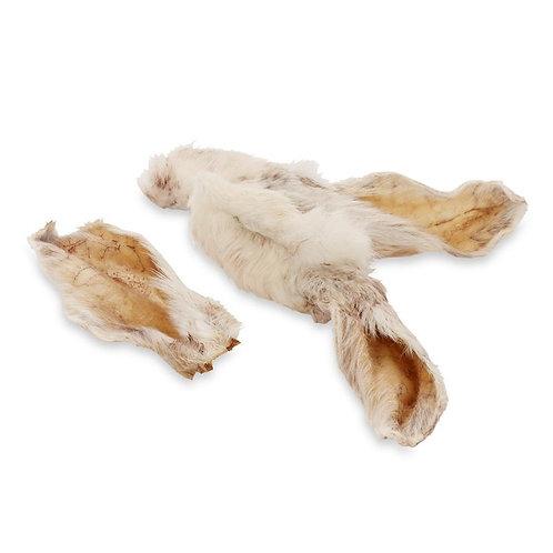 Rabbit ears with hair x 1