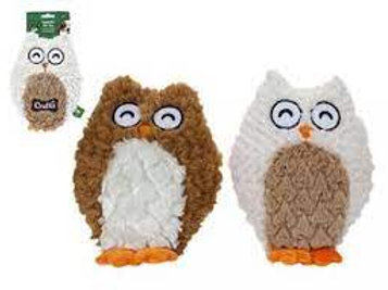 Crufts Squeaky Toy - Owl