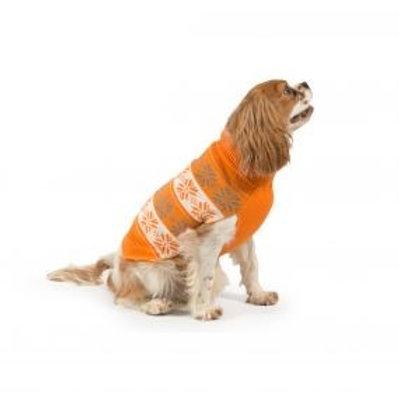 Nordic Dog Jumper - Orange