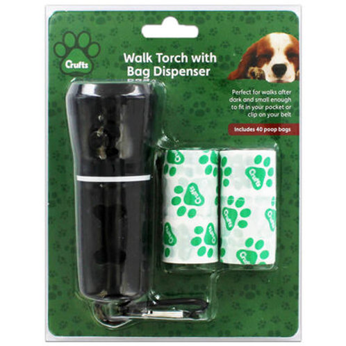 Crufts - Torch (with bag dispenser)