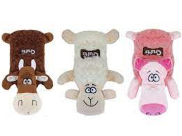 Crufts Squeaky Toy - Farmyard