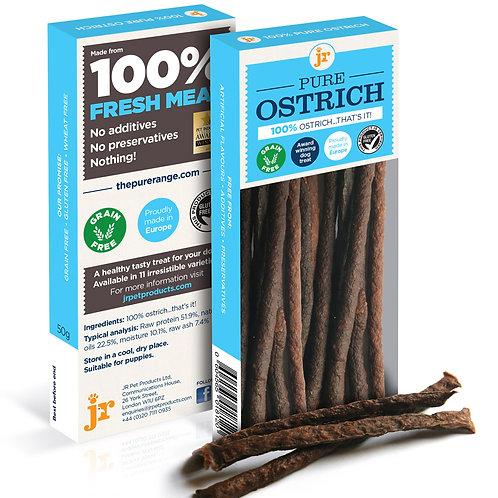 Meat Sticks - Pure Ostrich