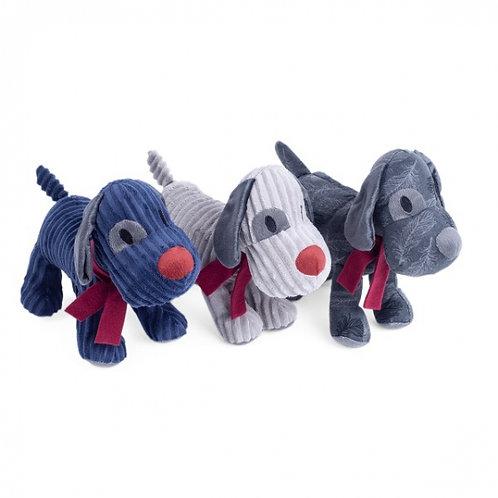 Plush Dog Toy - Midnight Tweed Freddi