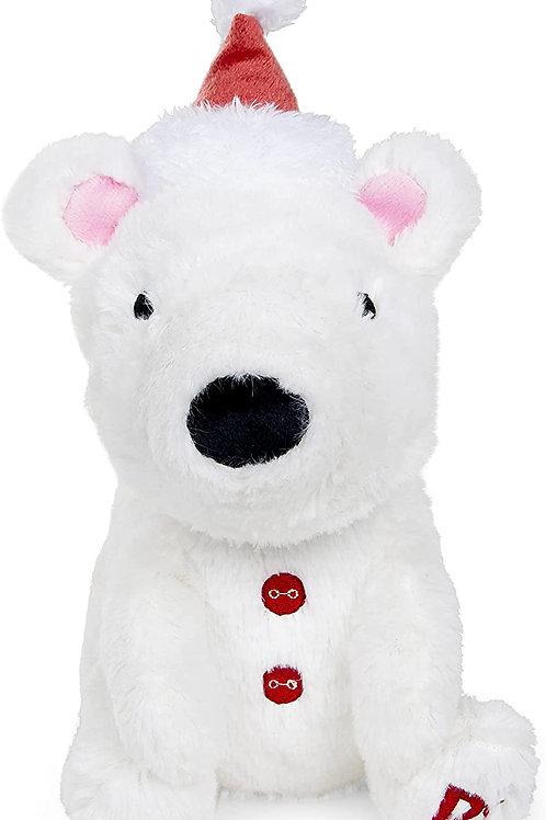 Plush Dog Toy - Polar Bear