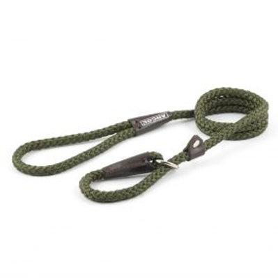 Heritage Rope Slip Lead - Green
